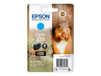 Epson 378 - 4.1 ml - cyan - originale - blister - cartouche d'encre - pour Expression Home HD XP-15000, Expression Photo XP-8500, XP-8500 Small-in-One, XP-8505 C13T37824010